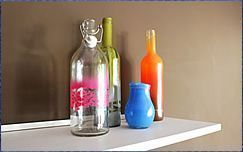 De botella a un objeto de decoración