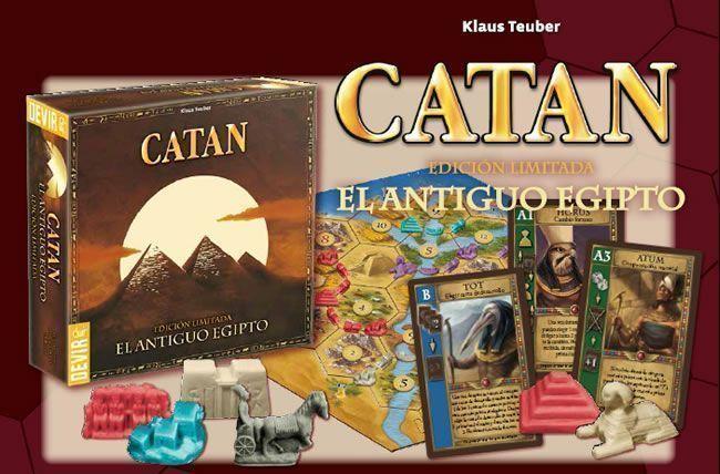 Aumenta la diversión para los jugadores de CATÁN. El Antiguo Egipto.