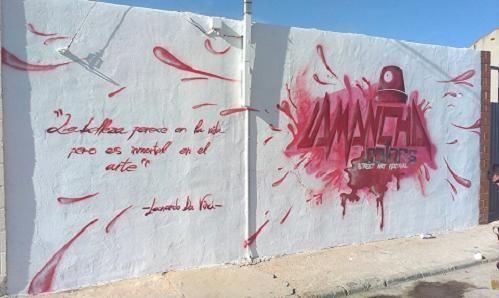 """""""La Mancha Colors"""". Festival de arte urbano en Las Mesas (Cuenca)"""